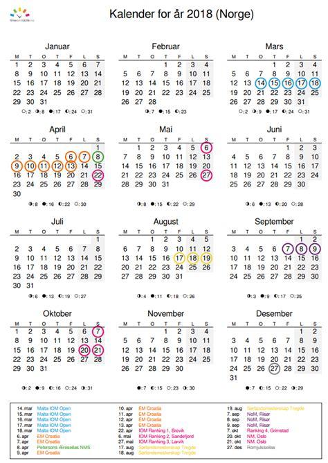 norway design kalender norsk kalender 2018 evolist co