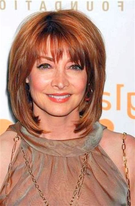 hairstyles over 50 bangs image result for medium length hairstyles for women over