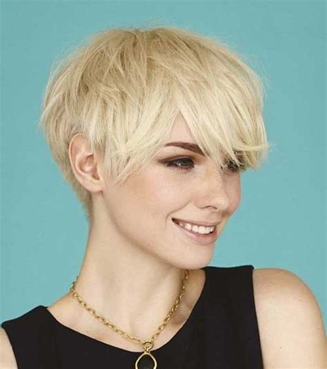 blonde hairstyles short layers 25 short layered pixie haircuts hairstyles haircuts