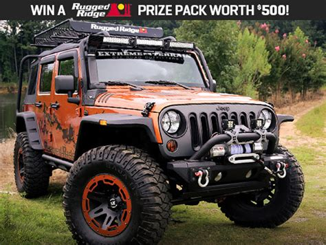 Extreme Terrain Giveaway - win 500 worth of jeep wrangler gear from extreme terrain off road xtreme
