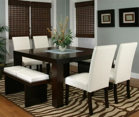 dining room cushions kemper two cushion bench contemporary dining room other metro by wolf furniture