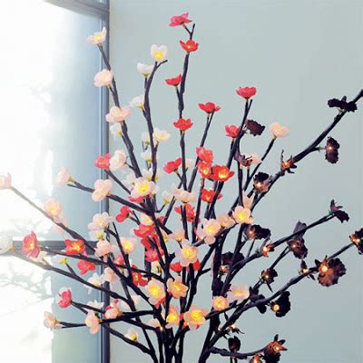 toxiferous designs cherry blossom branch lights