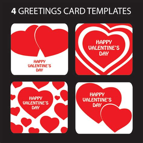 s day card template photos s day shaped greeting card template vector