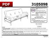 dorel home products futon assembly bm