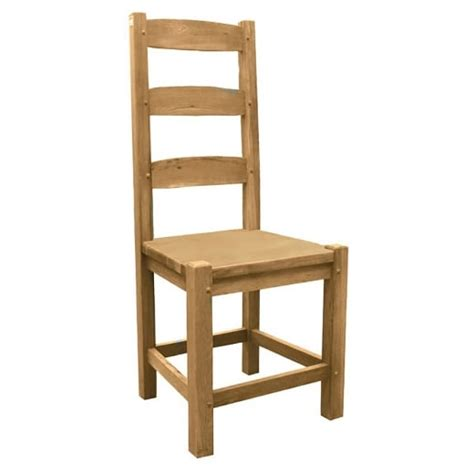 oak solid wood amish dining chair from curiosity interiors