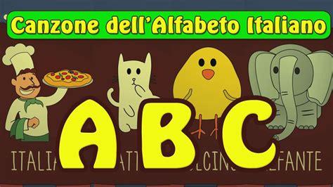 le lettere dell alfabeto italiano canzone dell alfabeto abc imparare l alfabeto italiano