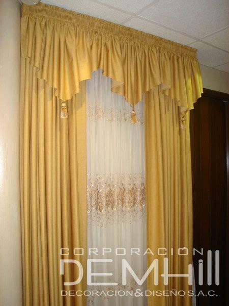 cenefas para cortinas cortinas para sala con cenefas imagui