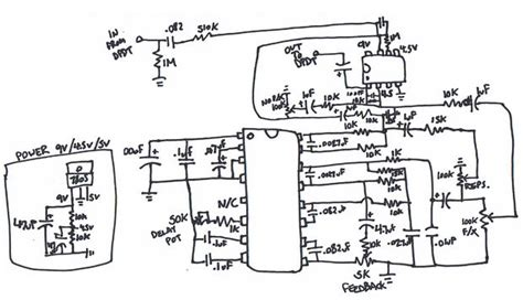 guitar delay pedal schematic lupine systems it s a wolf