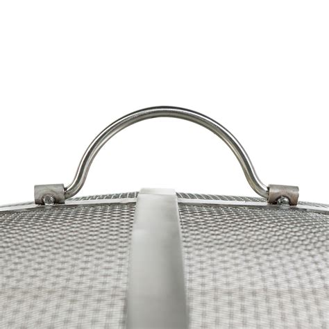 pit mesh cover stainless steel pit spark screen durable mesh cover