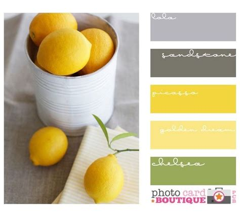 gray and yellow color schemes yellow grey and green colour scheme events pinterest