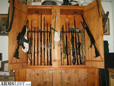 Large Gun Cabinet by Armslist For Trade Large Gun Cabinet