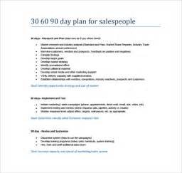30 60 90 Day Plan Template Exle by 30 60 90 Day Plan Template 8 Free Documents In Pdf