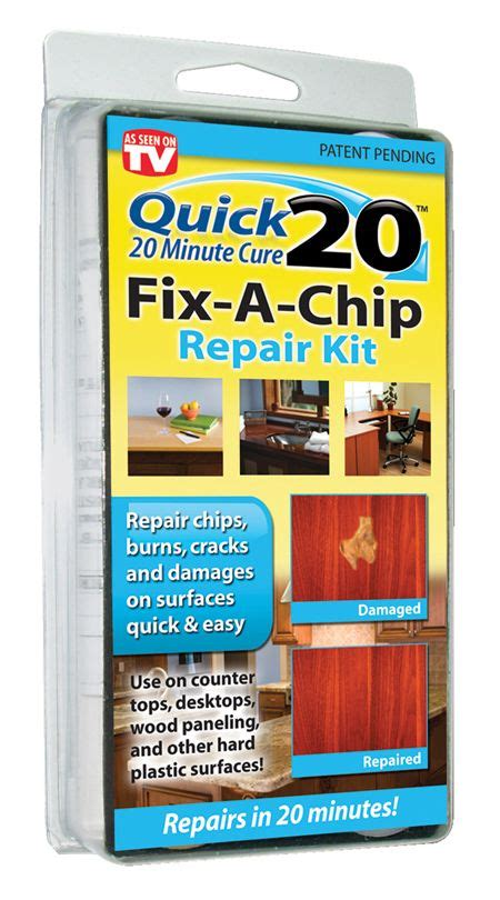 Laminate Countertop Repair Kit by Fix A Chip Repair Kit Wood And Plastic Repair Invisible Repair Products Inc