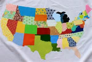 us map quilt free tutorial the united scraps of america by