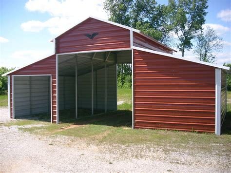 carport metal carports and garages the barn farm