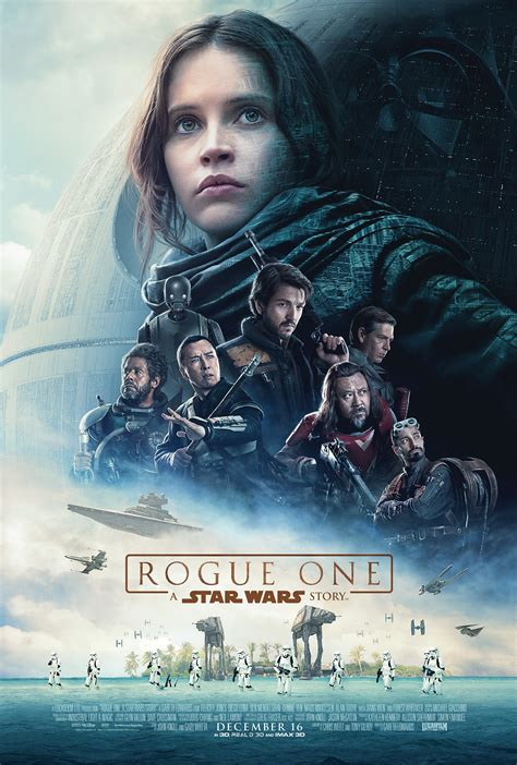 rogue one a star wars story affiche et bande annonce finales