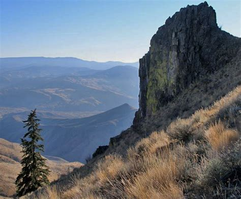 R Painting Wenatchee by Burch Mountain Eagle Rock Wenatchee Outdoors