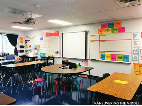 photography classroom layout middle school classroom tour maneuvering the middle