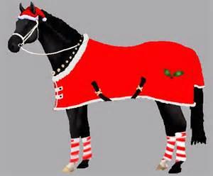 Christmas Horse Dress Up » Home Design 2017