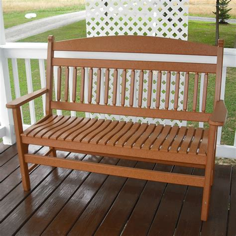 americana bench benches the amish craftsmen guild ii