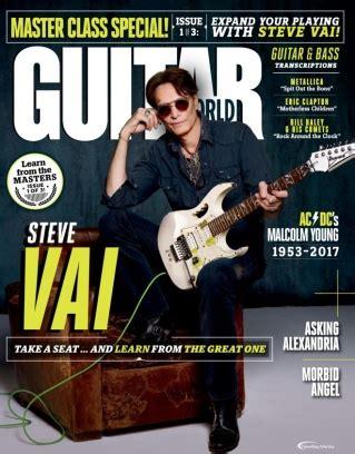guitar world magazine february  issue   digital copy
