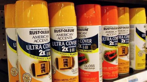 what colors does rust oleum paint come in reference