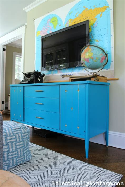 Painted Mid Century Furniture by Painted Mid Century Furniture Updates Any Home