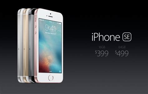 iphone se price this is apple s new four inch iphone se