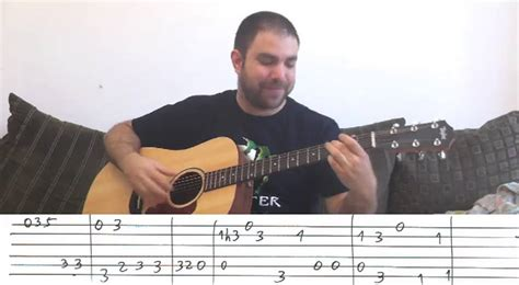 tutorial chitarra fingerstyle fingerstyle tutorial stand by me w tab guitar lesson