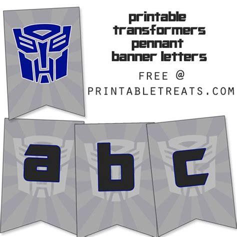 printable transformers birthday banner printable transformers birthday banner from