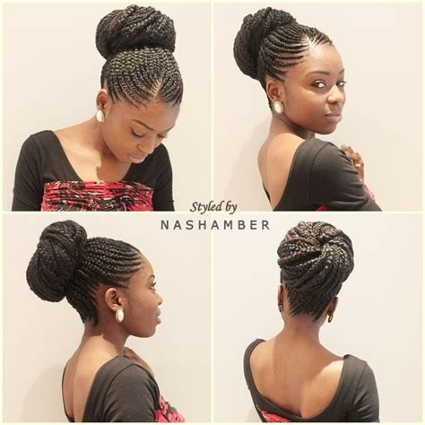 hair braided up into a bun style 1000 images about braids and cornrows on pinterest