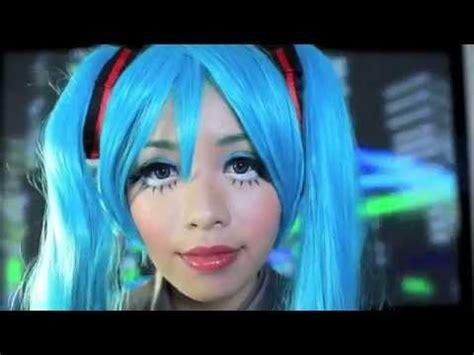 tutorial makeup hatsune miku hatsune miku makeup youtube youtube