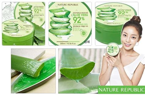 Harga Pencuci Muka Nature Republic review 10 kelebihan nature republic aloe vera 92