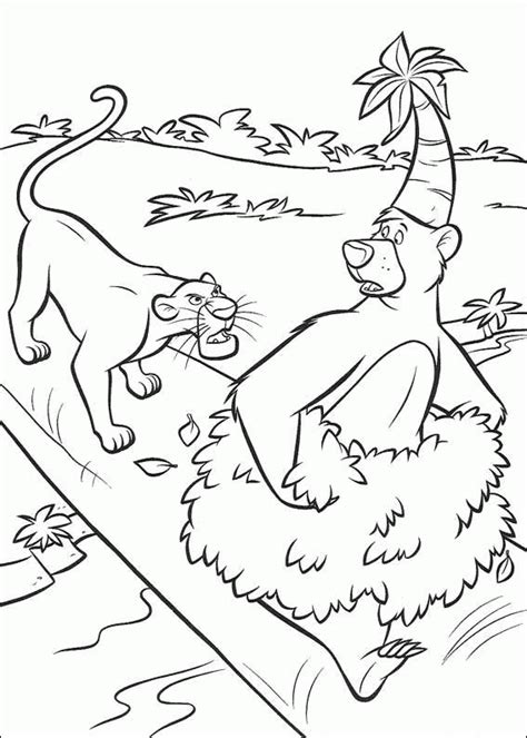 jungle book 2 coloring pages coloringpagesabc com