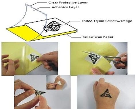 tattoo paper in canada tattoo tryout paper tryout tatouage temporaire tattoo
