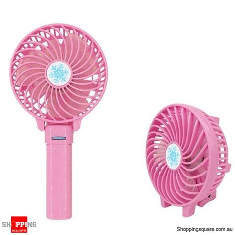 Battery Cell Handheld Cooling Fan 18650 Battery Pink 1 portable foldable rechargeable mini handheld cooling fan