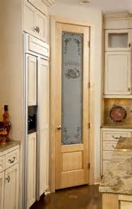 Upgrading Kitchen Cabinets 8 0 birch pantry door with panel below traditional