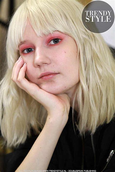 dameskapsels halflang kapsels halflang haar 2018 kapsel foto s en trends