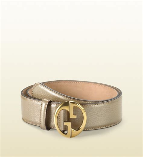 lyst gucci belt with g buckle in