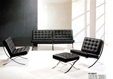 Barcelona Leather Sofa China Barcelona Sofa Ht 8001f China Modern Sofa Leather Sofa