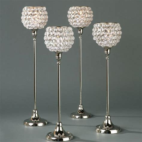 Tea Cups Decorations Tall Crystal Candle Holders Light Fixtures Design Ideas