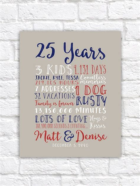 17 Best images about 25th wedding anniversary on Pinterest