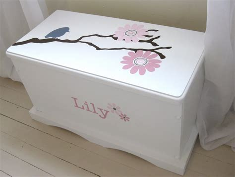 toy box ideas my pink life painted toy chest
