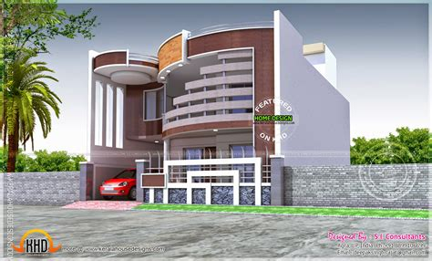 unique design house unique house with ground and first floor plan kerala home design and floor plans