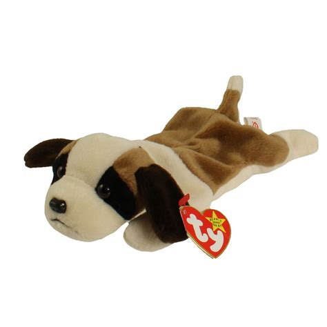 beanie baby puppy ty the beanie babies collection bernie the st bernard 8 5 inch 1996 ebay