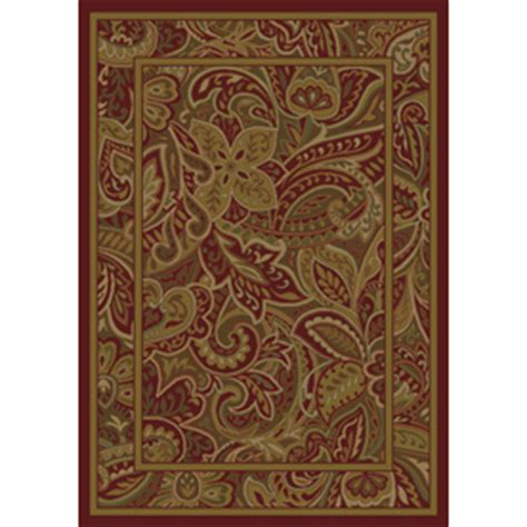 paisley park rug shop shaw living paisley park rectangular floral area rug common 9 ft x 12 ft actual 9