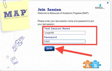 map student login cotter chronicle of map testing completed
