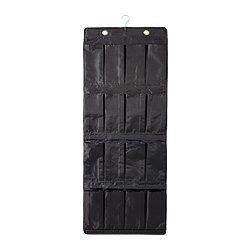 ikea hanging closet storage skubb storage with 9 skubb hanging shoe organizer w 16 pockets black hanging