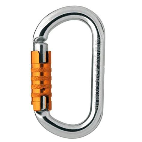 Petzl Lock Carabiner Climbing petzl ok triact lock carabiner omniprogear