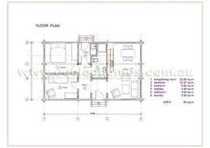 Flat Floor Plan by Granny Flat 2 Ecolog Homes